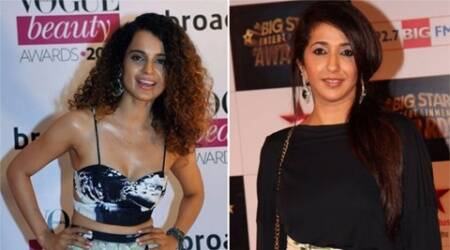 Krishika Lulla gifts diamond earrings to Kangna Ranaut