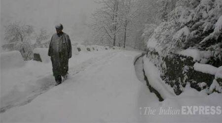 Snowfall in Srinagar, wet weather in store over next few days