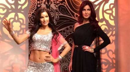 Katrina Kaif unveils her wax statue at Madame Tussauds in London