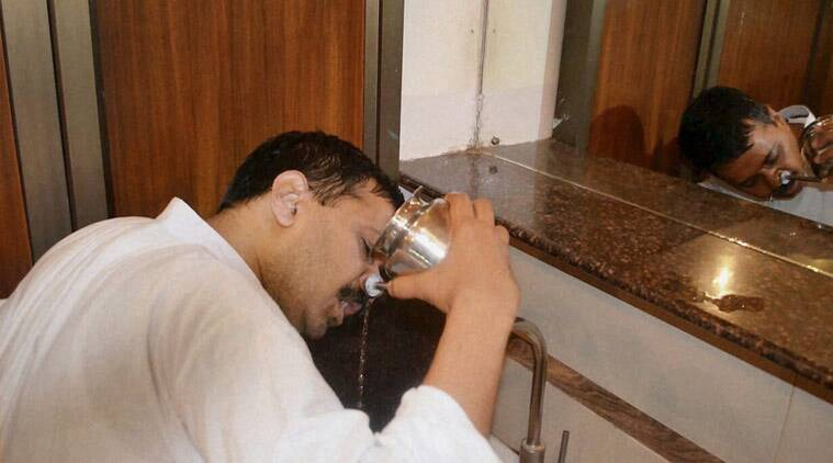Arvind Kejriwal has been on ten days break and shall resume office from Monday. (Source: PTI)