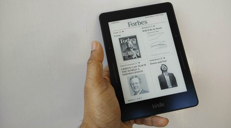 kidle voyage, kindle voyage price, kindle voyage review, kindle voyage india, amazon, amazon kindle voyage, technology news