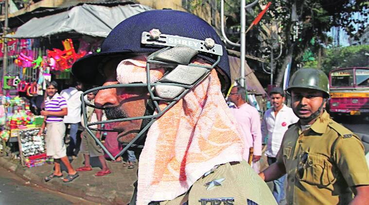 DCP D P Singh, who was injured during the clash on Wednesday. Subham Dutta.