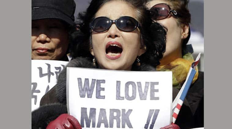 Mark Lippert, South Korea, united states of america, Us ambassador stabbed, ambassador stabbed, Lippert stabbed, korea violence, korea protests, World News