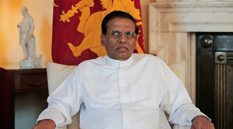 Maithripala Sirisena, Sirisena, Sri Lanka President, Sri Lanka reconciliation, Sirisena reconciliation talks, Sri Lanka Tamils, Sri Lanka news, world news, latest news, indian express