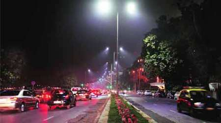 explained, LED, yellow lights, BMC, BJP, RSS, VJP LED project, marine drive project, mumbai news, city news, local news, mumbai newsline