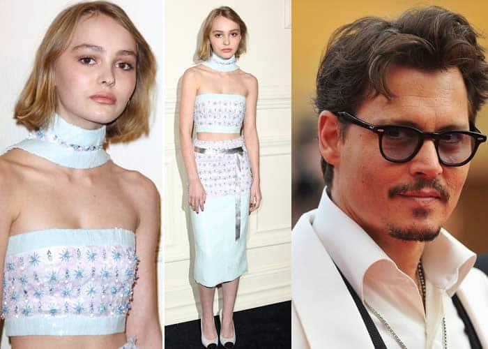 Johnny Depp, Lily Rose Depp