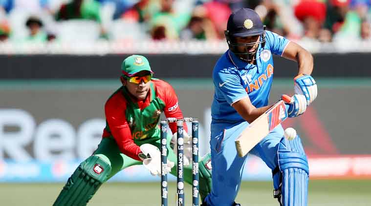 Live Cricket Score, India vs Bangladesh: Rohit scored 137 (Source: AP)