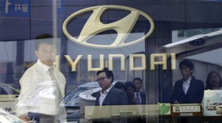 Hyundai, Hyundai Motors, South Korea, Hyundai strike, Hyundai labourers strike, Hyundai labourers, business news, companies news, latest news, Indian express
