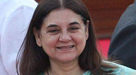maneka gandhi, gandhi, maneka, climate change, pollution, global warming, climate summit, paris climate summit, modi, pm modi,