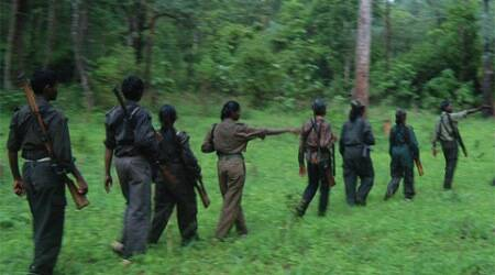 Jharkhand police visit injured Maoist, with a gift