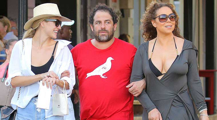 Mariah Carey vacations with close friend Brett Ratner in France