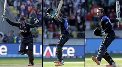 Martin Guptill's 163-ball 237 powers New Zealand into semis