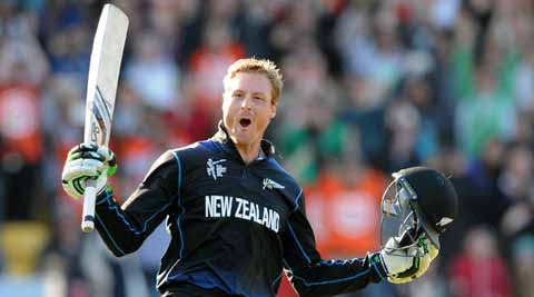New Zealand vs West Indies: Martin Guptill's 237* sets up New Zealand-South Africa semi-final