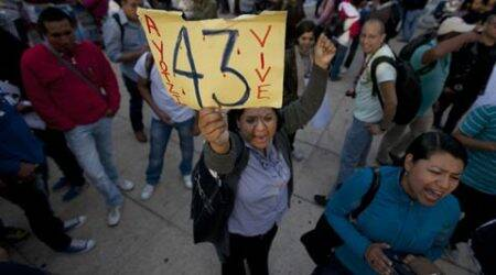 Mexico: Six months since 43 students disappeared, agitated parents march in protest
