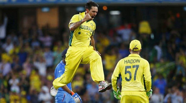 India vs Australia, Australia vs India, Ind vs Aus, Aus vs Ind, Mitchell Johnson, Johnson Australia, Australia Johnson, Cricket World Cup, World Cup 2015, Cricket News, Cricket