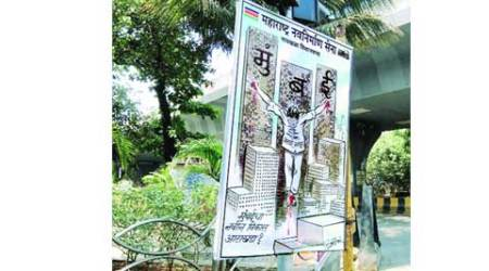 MNS posters on 'plight of Marathi Manoos' leave Christians fuming