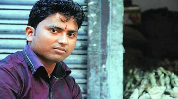 """K Gupta's shop was ransacked. """"It's only today when I saw CRPF that I felt safe,"""" he says."""