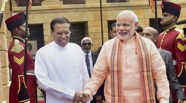 Narendra Modi, Narendra Modi Lanka visit, Modi Sri Lanka visit, Narendra Modi lanka tour, Rajapaksa, Maldives Nasheed, indo lanka ties, india foreign policy, C. Raja Mohan column indian express column, ie column