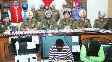 'Gang led by IAS aspirant behind major dacoities': Mohali police