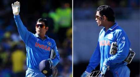 MS Dhoni: Smudged, but colour remains