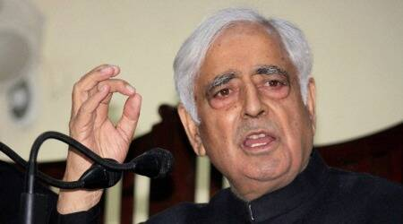 Mufti Mohammad Sayeed, J&K Floods, Srinagar, mufit sayeed, srinagar floods, srinagar weather, j&K weather, kashmir floods, kashmir weather, india news, kashmire news