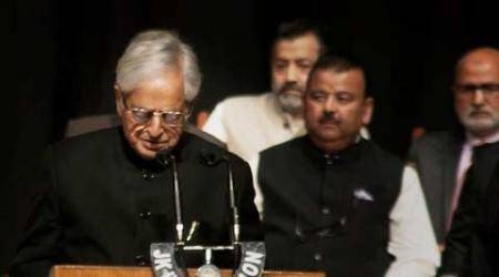 Mufti Mohammad Sayeed takes oath as Jammu and Kashmir CM