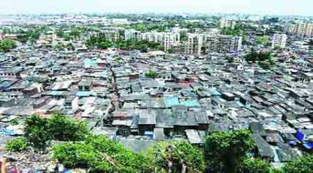 aadhaar, slum, mumbai slum, slum rehab, Slum Rehabilitation Authority, NCP, mumbai news, city news, local news, maharashtra news, Indian Express