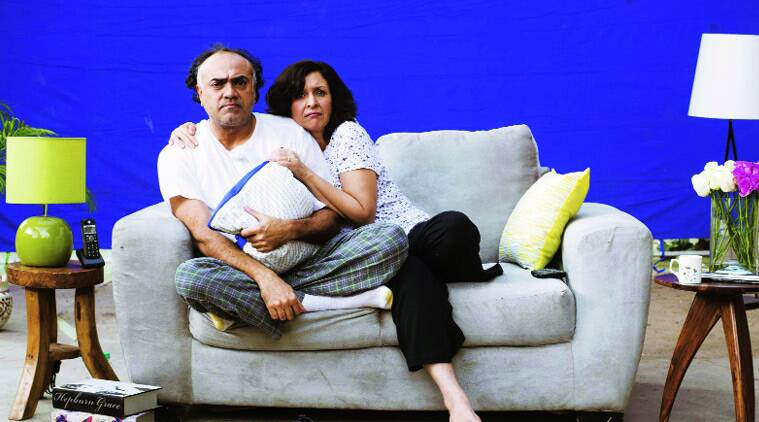In the play, Shernaz Patel and Rajit Kapur play a Parsi-Punjabi couple