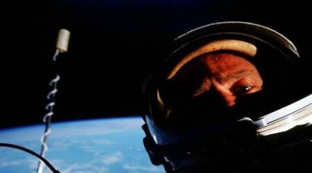 First 'space selfie' sells for nearly 6,000 pounds at auction