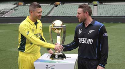 Australia, New Zealand gear up for final