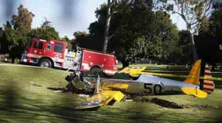 Harrison Ford injured in small-plane crash in Los Angeles