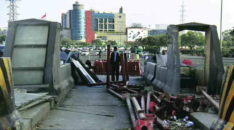 Gurgaon Toll Plaza, Demolition