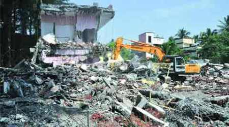 Illegal structures on PCMC radar again