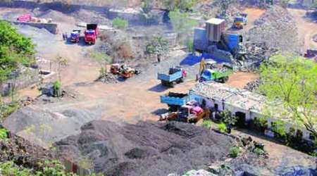 Thakur Village 'polluted', residents flag stone quarrying inarea