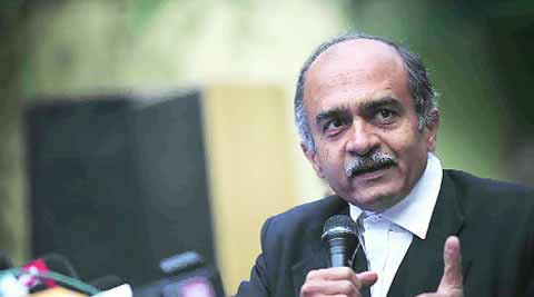 'It's a Stalinist purge, dissenters are being targeted': Prashant Bhushan