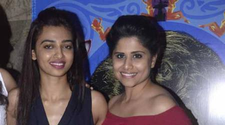 Radhika Apte laughs off reports of feud with Sai Tamhankar