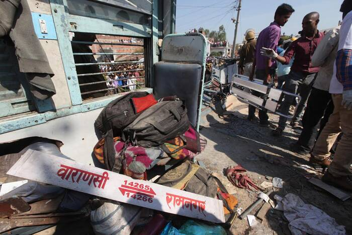 Train accident, Dehradun-Varanasi Janta Express, Bachrawan Railway Station, train derail