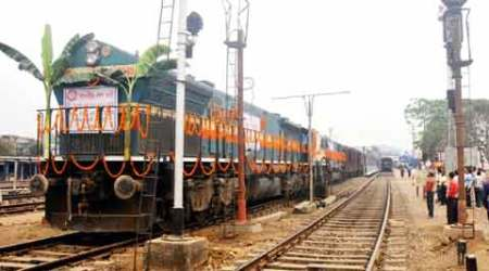 For a change, Railways complete a project one week beforetarget