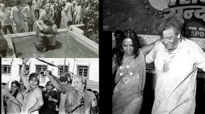 Rare pictures of Raj Kapoor, Shammi Kapoor, Rishi Kapoor celebrating Holi