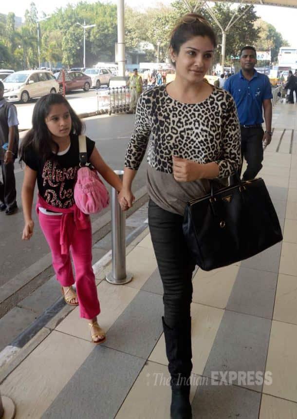 Raveena Tandon, Raveena Tandon daughter Rasha