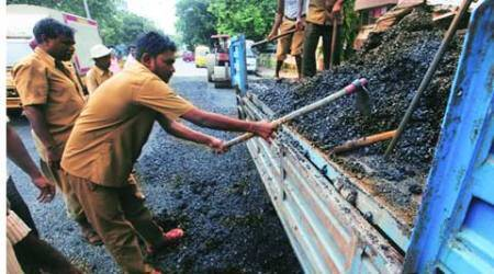 'Untimely' showers wreck BMC's road repair schedule