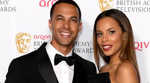 Rochelle Humes, husband Marvin Humes