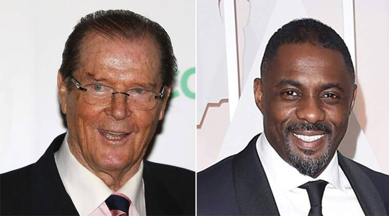 Roger Moore denies making racist comment about Idris Elba