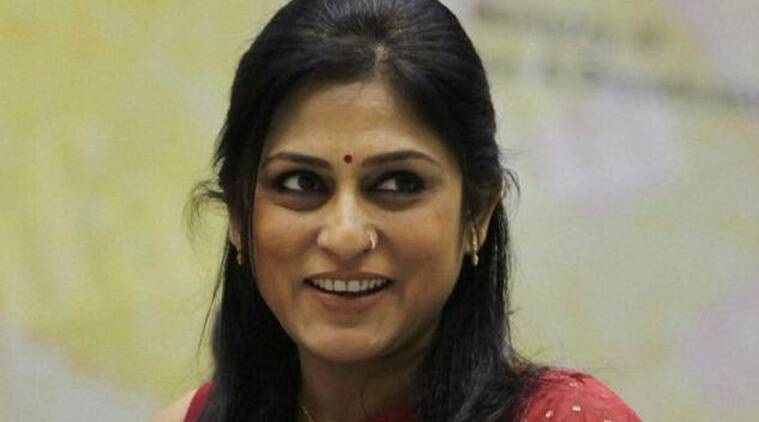 Roopa Ganguly, Roopa Ganguly Child trafficking case, CID questions Roopa Ganguly, BJP MP Roopa Ganguly, indian express news