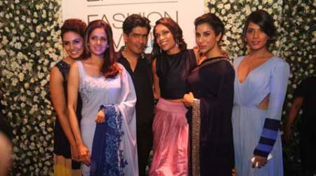 Rosario Dawson adds power to designer Manish Malhotra's LFW show