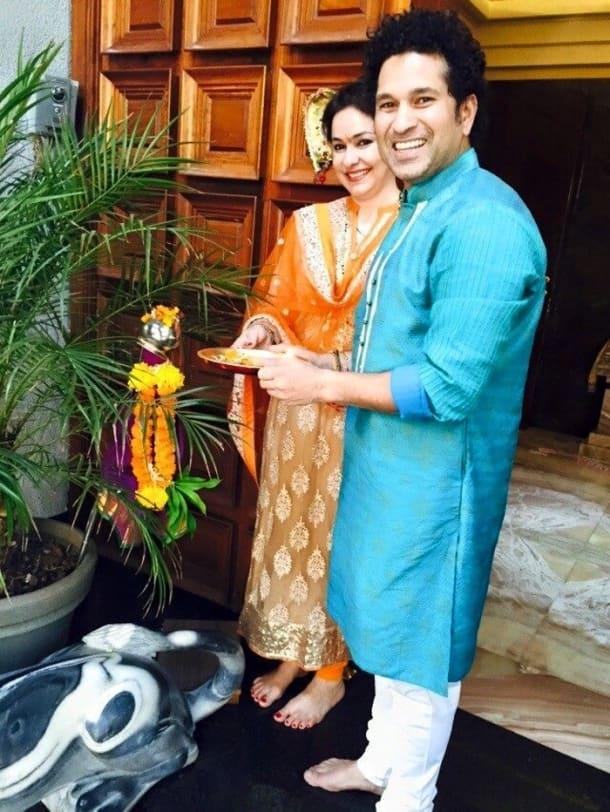 Sachin tendulkar, Gudi Padwa