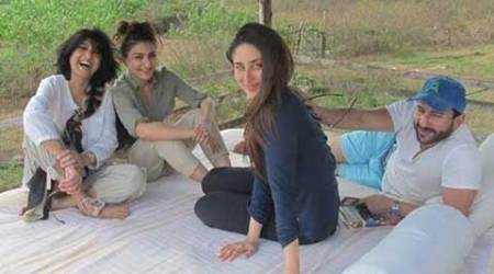 Safari time for Kareena Kapoor, Saif Ali Khan, Soha and Kunal Kemmu