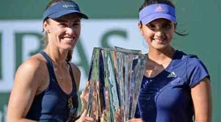 Sania Mirza, Martina Hingis, BNP Paribas Open, Sports, tennis, Sports news, Tennis news, Sania miraza martina hingis, martina hingis sania mirza