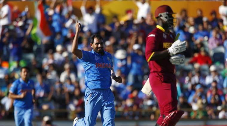 Cricket World Cup 2015, World Cup 2015, Mohammad Shami, Shoiab akhter, mahendra Singh Dhoni, Dhoni,  Ind vs WI, WI vs Ind, India vs west Indies, west Indies vs India, Sports, Cricket, sports news, cricket news