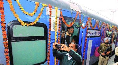 Indian Railways to unveil first of its premium Shatabdi Express under Swarn project today